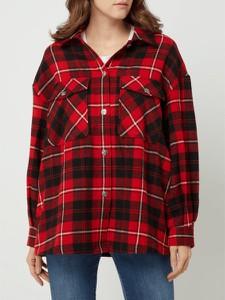 Czerwona bluzka Only w stylu casual