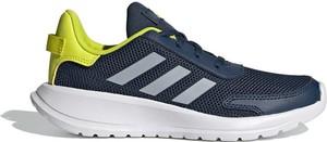Granatowe buty sportowe Adidas z płaską podeszwą