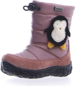 Różowe buty dziecięce zimowe Naturino