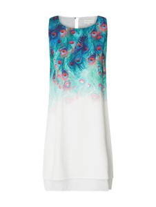 b261ba67fa sukienka w pawie pióra. Sukienka Apricot z okrągłym dekoltem