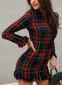 Sukienka Sandbella mini prosta w stylu casual