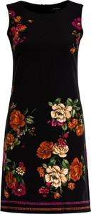 Sukienka Desigual w stylu casual z okrągłym dekoltem bez rękawów