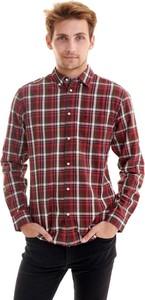 Koszula Wrangler w stylu casual z kołnierzykiem button down z długim rękawem