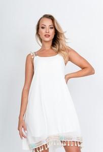 Sukienka Zoio na ramiączkach w stylu boho mini