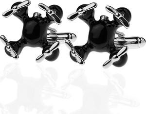 Em Men`s Accessories Spinki do mankietów tematyczne dron EM 17