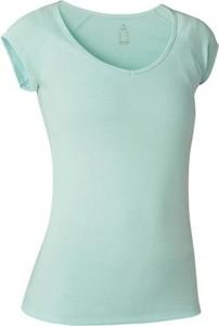 Miętowy t-shirt Domyos