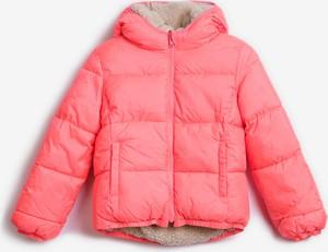 Różowa kurtka dziecięca Gap
