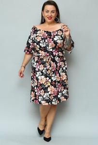 Sukienka KARKO dla puszystych mini