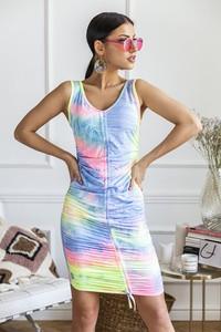 Sukienka HERS.pl ołówkowa mini w stylu casual