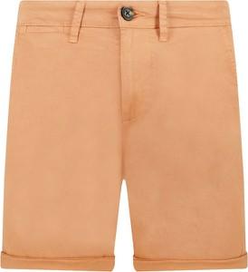 Pomarańczowe spodenki Pepe Jeans w stylu casual