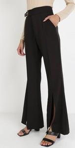 Czarne spodnie born2be w stylu retro