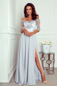 Srebrna sukienka Paris