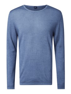 Niebieski sweter S.Oliver Black Label w stylu casual z wełny
