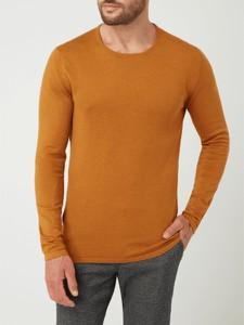 Sweter McNeal z okrągłym dekoltem z bawełny w stylu casual