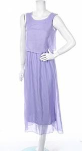 Fioletowa sukienka Bkmgc rozkloszowana
