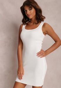 Sukienka Renee mini z okrągłym dekoltem dopasowana