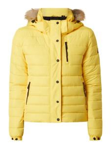 Żółta kurtka Superdry w stylu casual