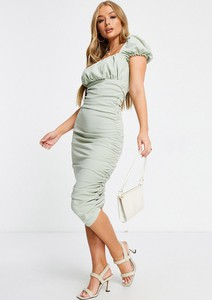 Zielona sukienka Ax Paris midi