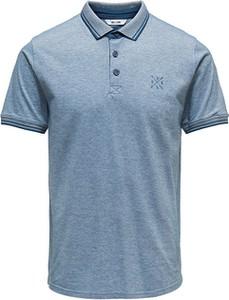 Koszulka polo Only&sons z krótkim rękawem w stylu casual