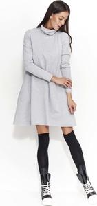 Sukienka Makadamia z długim rękawem mini