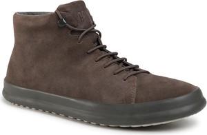 Brązowe buty zimowe Camper
