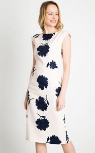 Sukienka QUIOSQUE w stylu casual midi