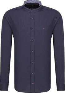Niebieska koszula Tommy Tailored z długim rękawem
