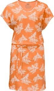 Pomarańczowa sukienka Jack Wolfskin