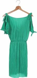 Zielona sukienka dziewczęca Zara Kids