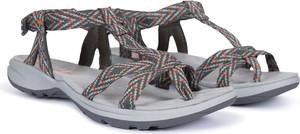 Sandały Trespass z płaską podeszwą ze skóry