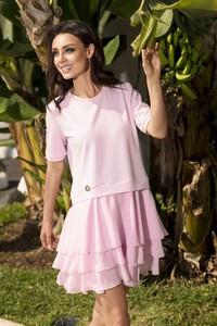 Sukienka Lemoniade z krótkim rękawem z bawełny