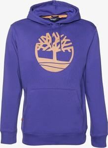 Fioletowa bluza Timberland w młodzieżowym stylu
