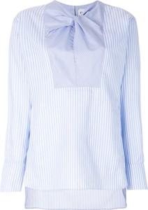 Błękitna bluzka Carven w stylu klasycznym