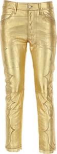 Złote spodnie Golden Goose