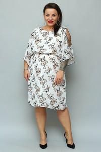 Sukienka KARKO z szyfonu w stylu casual