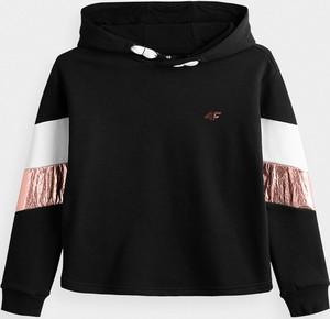 Granatowa bluza dziecięca 4F