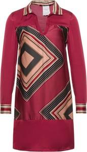 Czerwona sukienka Pennyblack koszulowa mini w stylu casual