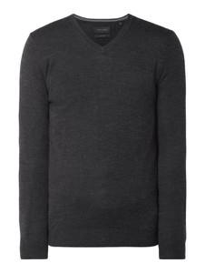 Czarny sweter Christian Berg Men w stylu casual z wełny
