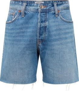 Niebieskie spodenki Jack & Jones z jeansu