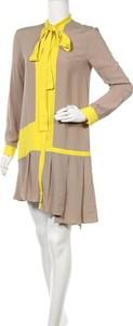 Sukienka N 21 z długim rękawem