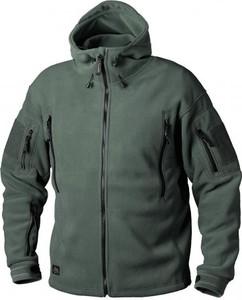 Zielona bluza HELIKON-TEX w militarnym stylu z polaru