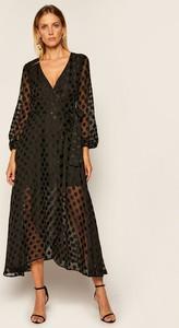 Sukienka Guess z dekoltem w kształcie litery v