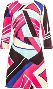 Sukienka bonprix BODYFLIRT boutique z długim rękawem z okrągłym dekoltem w stylu casual
