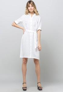 Sukienka Monnari koszulowa z długim rękawem