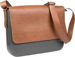 Pomarańczowa torba Doubleu Bag ze skóry