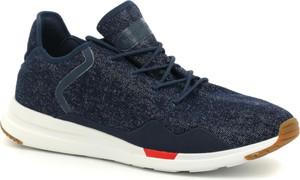 Granatowe buty sportowe Le Coq Sportif sznurowane