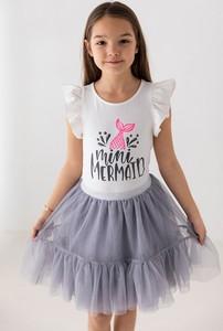 Spódniczka dziewczęca Myprincess / Lily Grey z bawełny