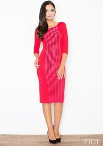 3d1f292159 obcisła czerwona sukienka. - stylowo i modnie z Allani