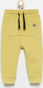 Zielone spodnie dziecięce Reserved z dzianiny dla chłopców