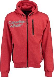 Czerwona bluza Canadian Peak z bawełny